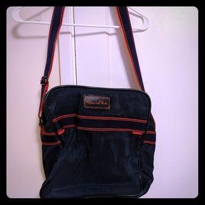 Vintage Oscar de la Renta overnight bag